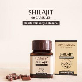 shilajit capsules, upakarma ayurveda