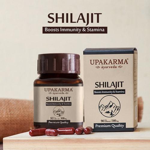 Shilajit capsule for immune boost