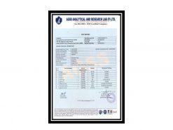 Shilajith Research Certificate