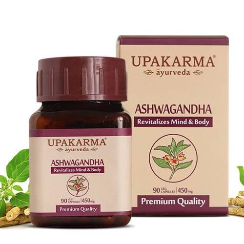 ashwagandha, upakarma ayurveda