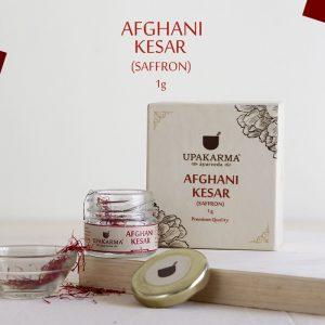 afghani kesar, saffron, upakarma ayurveda