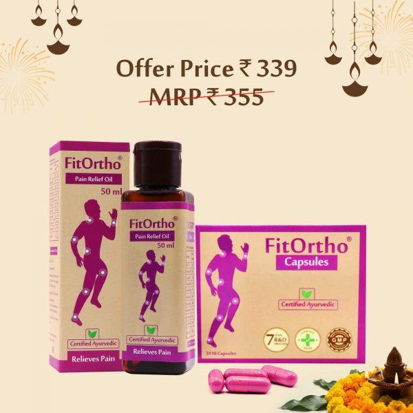 Fitortho oil, capsules, upakarma ayurveda