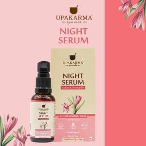 night serum, upakarma ayurveda