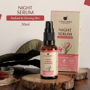 night serum, upakarma ayurveda