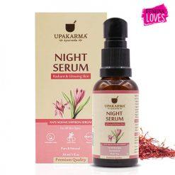 night serum, upakarma night serum