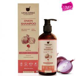 onion shampoo, upakarma onion shampoo