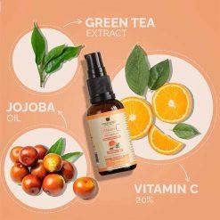 vitamin c face serum, anti ageing serum, upakarma ayurveda