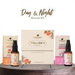vitamin c face serum, night serum, beauty products, upakarma ayurveda