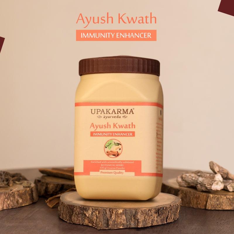 ayush kwath, upakarma ayurveda