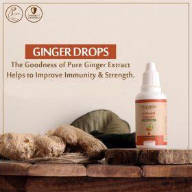 ginger drops, upakarma ayurveda
