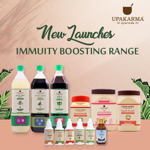 immunity boosters, upakarma ayurveda