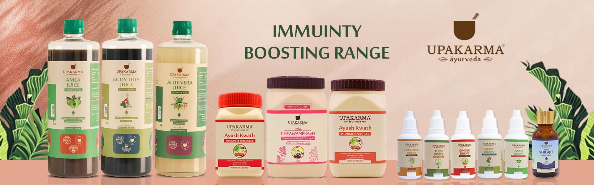 immunity booster, upakarma ayurveda