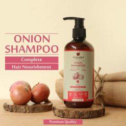 onion shampoo, hair shampoo, upakarma ayurveda