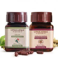 giloy capsules, ashwagandha capsules