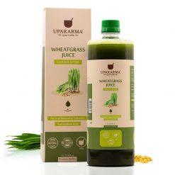 wheatgrass juice, upakarma ayurveda