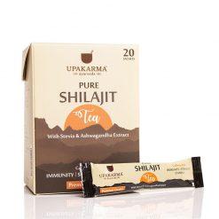 green tea, shilajit tea, healthy tea, upakarma shilajit tea