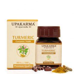 turmeric capsules, upakarma turmeric capsules