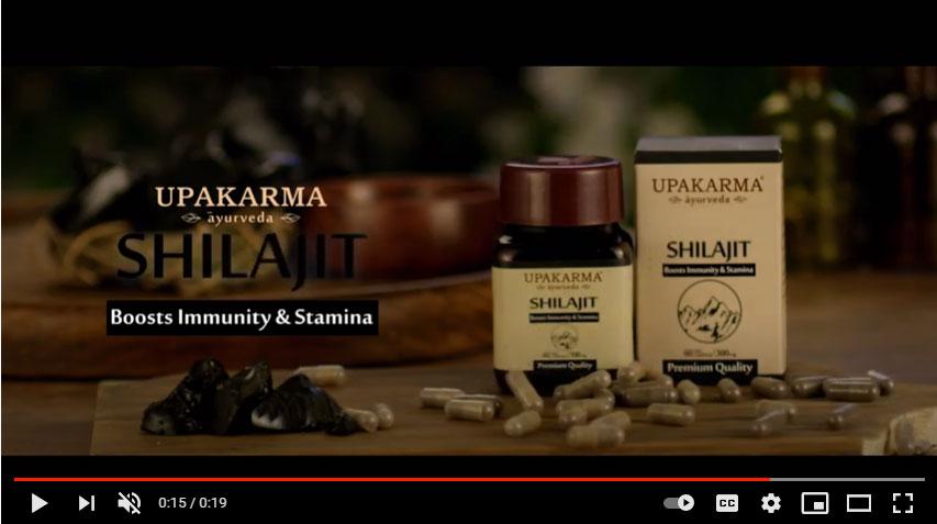 Upakarma ayurveda pure shilajith capsule