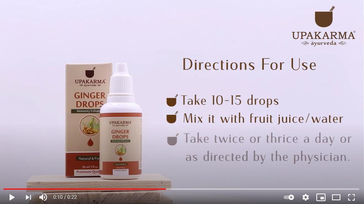ginger drops