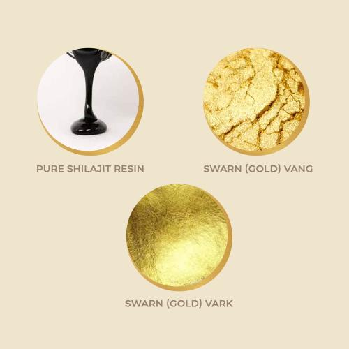 shilajit gold dust, upakarma shilajit, upakarma ayurveda